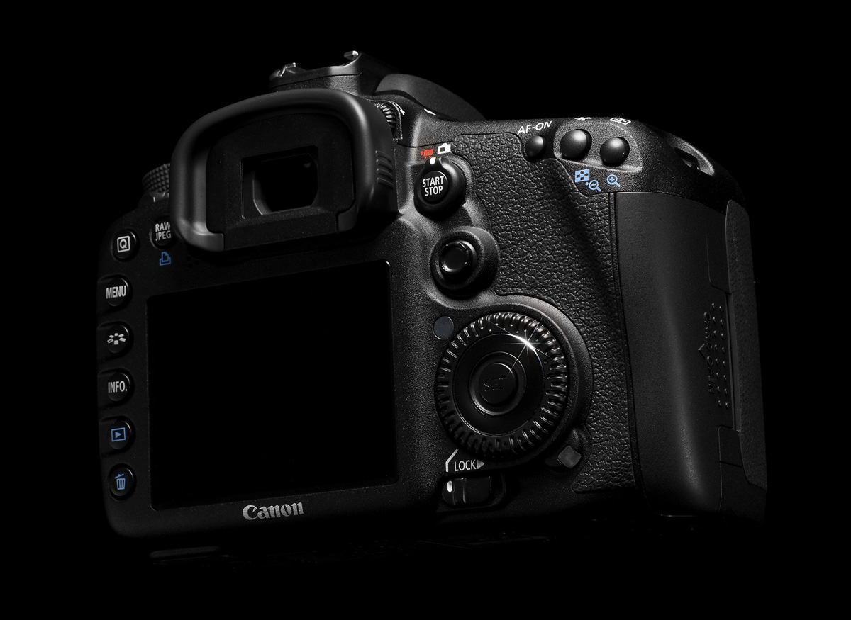EOS 7D - Comfortable in the Hand
