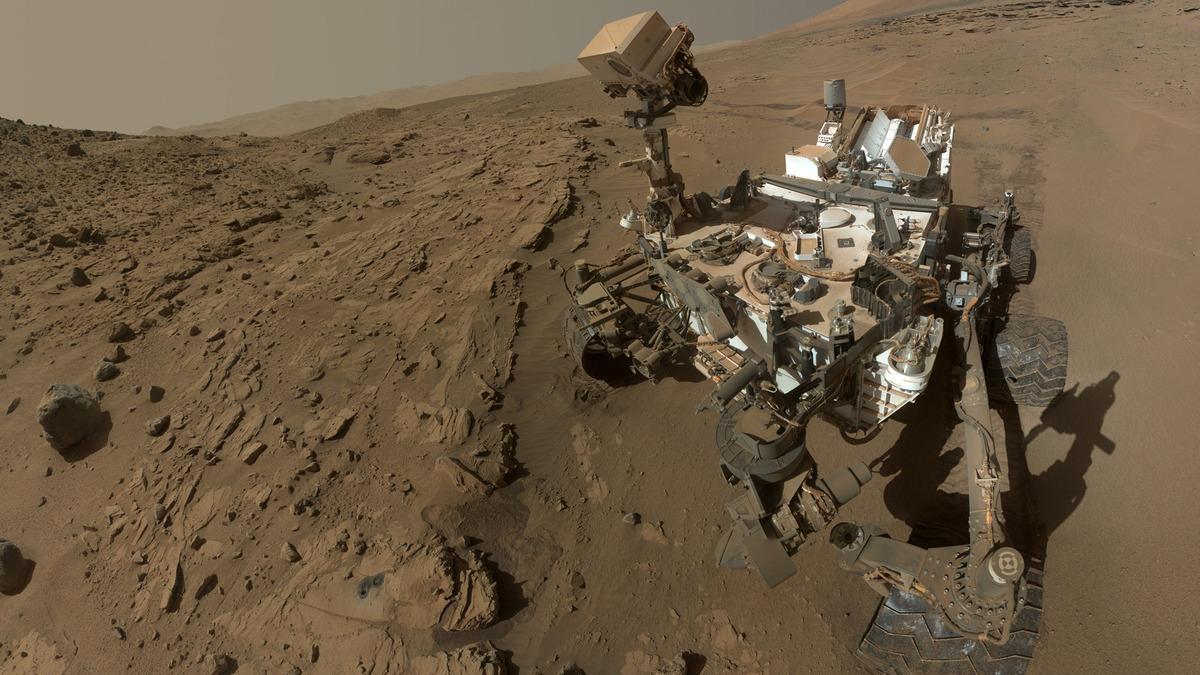 Mars-Rover-selfie