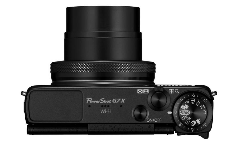 PowerShot G7 X TOP Lens Out