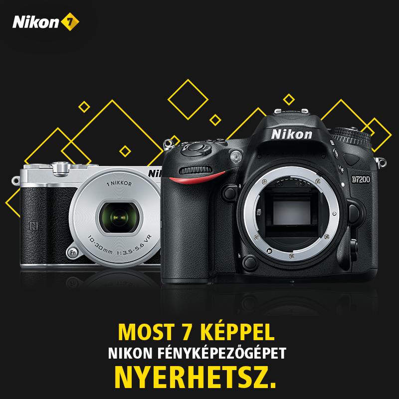 Nikon 7 nyeremények