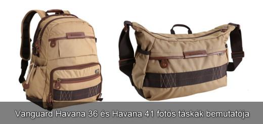 Bemutató  Vanguard Havana fotós táskák 2333d5c7f8