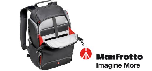 """A Manfrotto bemutatta legújabb """"Rear Access"""" fotós hátizsákját 89345222bb"""