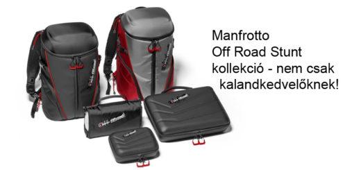 Kalandkamerákhoz való kiegészítőkkel jelentkezik a Manfrotto ddfc60886e