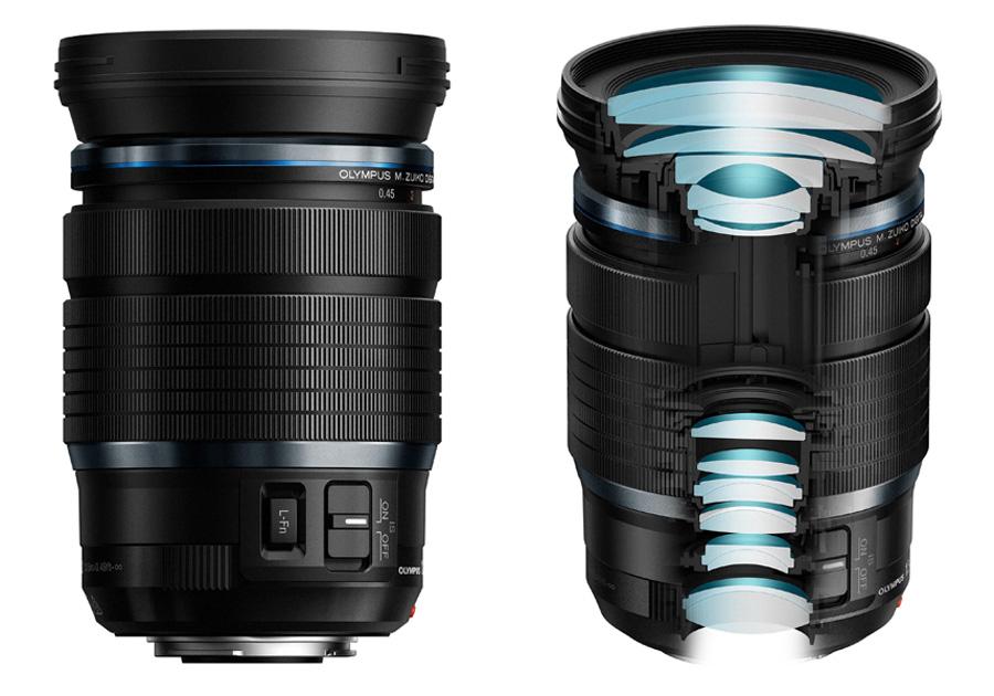 5648b1e4a940 8,3-szoros átfogást kínál az Olympus M.Zuiko Digital ED 12-100 mm F4 IS PRO  zoomobjektív, melynek fix F4 a kezdő fényereje a teljes tartományban.