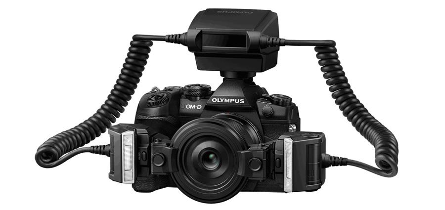 4f490015eadd ... Olympus objektívvel kompatibilis: az M.Zuiko Digital ED 30 mm F3.5 Macro,  az M.Zuiko Digital ED 60 mm F2.8 Macro, és az M.Zuiko Digital ED 12-40 mm  F2.8 ...