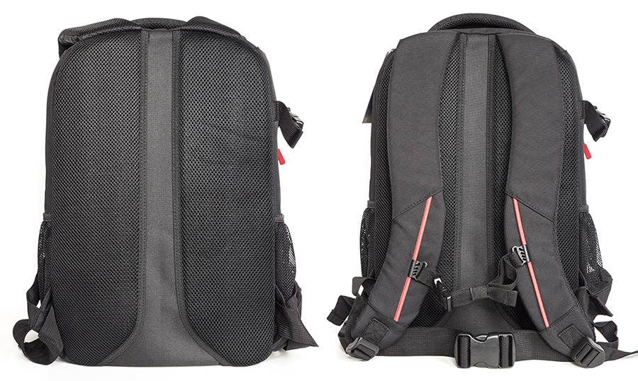63bad8925fea A hátizsák hátoldalának megfelelő szellőzését a széles középső vájat, és a  lélegző, párnázott oldalsó részek biztosítják.