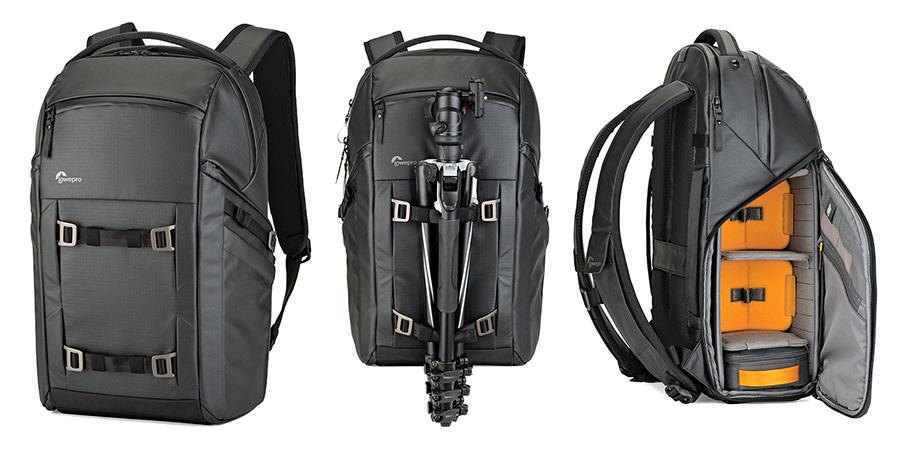 Kívülről a FreeLine BP 350 AW a gyártó többi hátizsákjának vonalvezetését  követi. A hátitáska anyaga különleges bevonattal ellátott nejlon 86ddbf5616