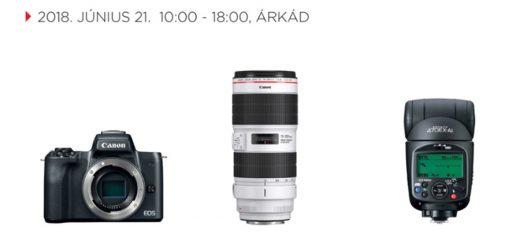 Gyorsjelentés  kipróbálhatod az új Canon termékeket 4182bbeff1